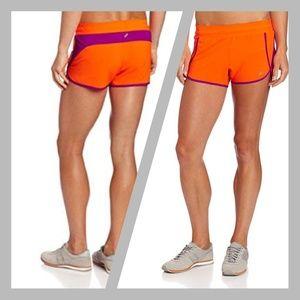 Asics》Running shorts lowrise shorts orange magenta